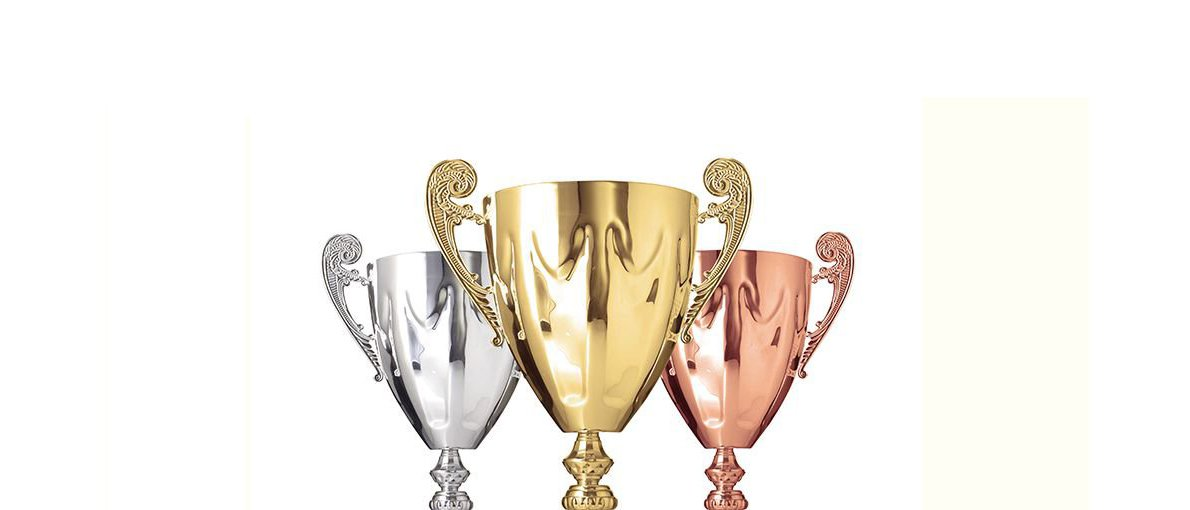 Gold, Silver & Bronze Trophy Cups in San Jose